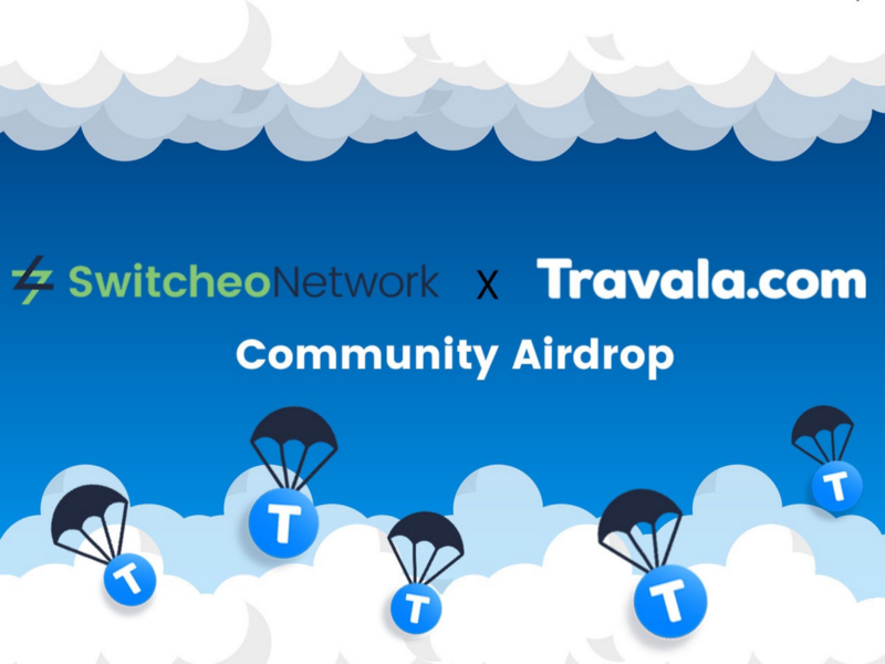 Travala (AVA) will Airdrop 250,000 tokens to Switcheo (SWH) holders