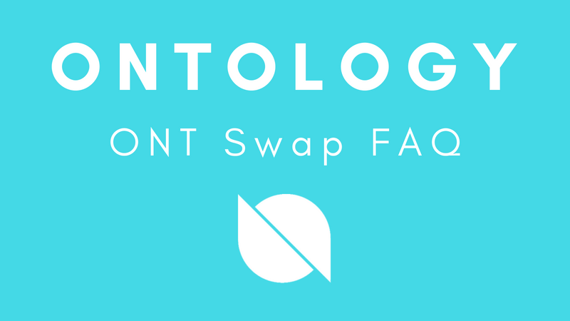 Ontology Mainnet Swap