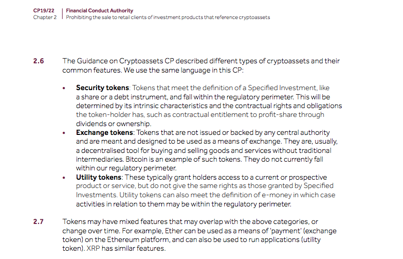 United Kingdom Regulator Indicates Ripple's XRP Is Not a Security
