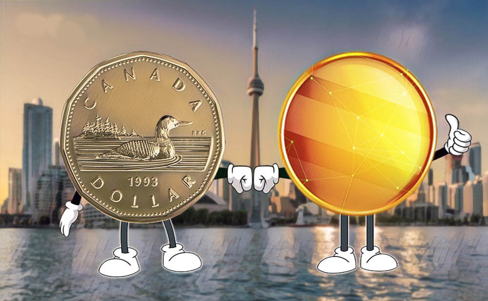 Canadian Cryptocurrency Stablecoin Launched Pegged to US Dollar