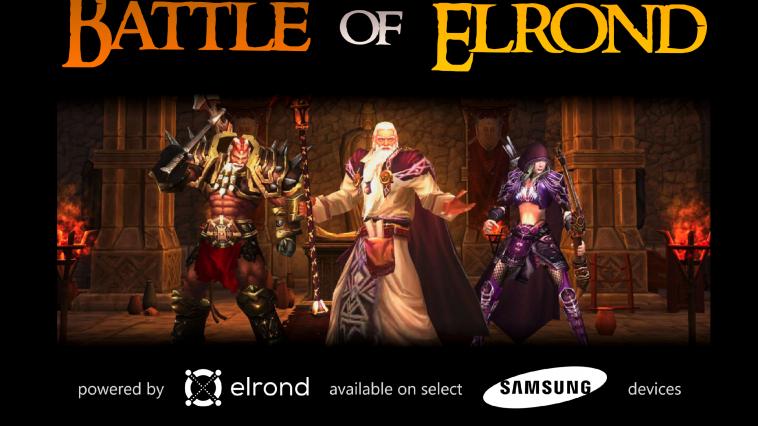 Samsung's Blockchain Phone to feature Elrond (ERD) Blockchain Gaming App 0