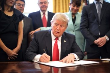 Donald Trump and Executive Order 13772
