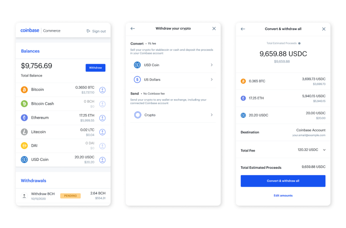 Coinbase Commerce Enables Option for Merchants to Instantly Convert Crypto to Fiat or USDC